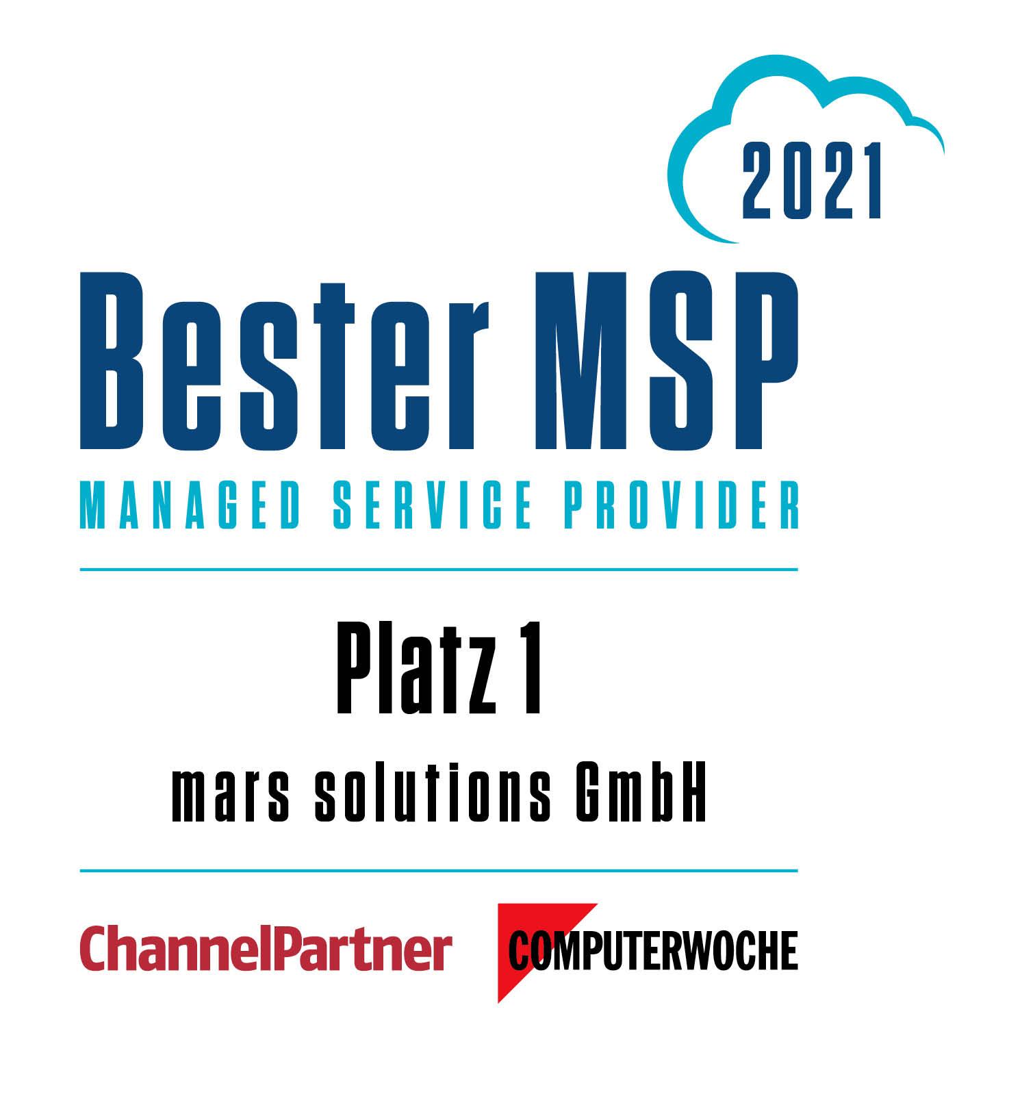 Bester Managed Service Provider 2019